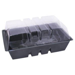 Invernadero rectangular 23x33cm