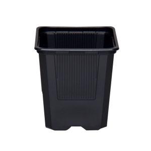 Maceta 7 x 7 x 8 (0,40L) Negra blanda