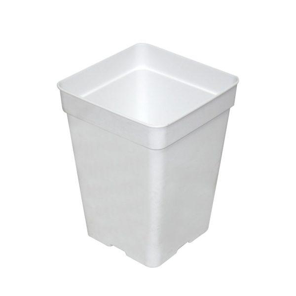 Maceta 15 x 15 x 19,5 (3,5L) Blanca