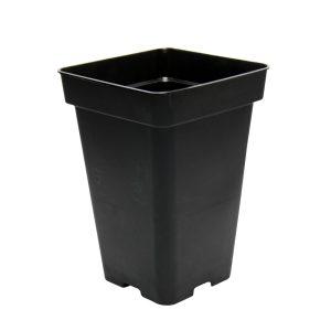 Maceta 18 x 18 x 25,5 (5,5L) Negra