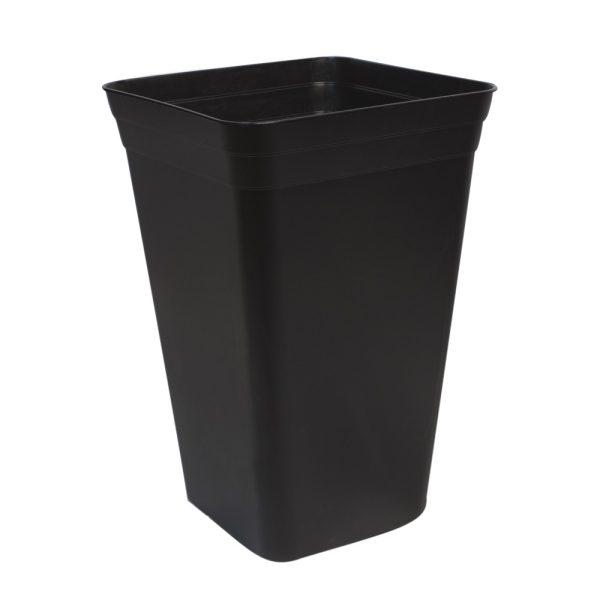 Maceta 26 x 26 x 40,5 (18L) Negra