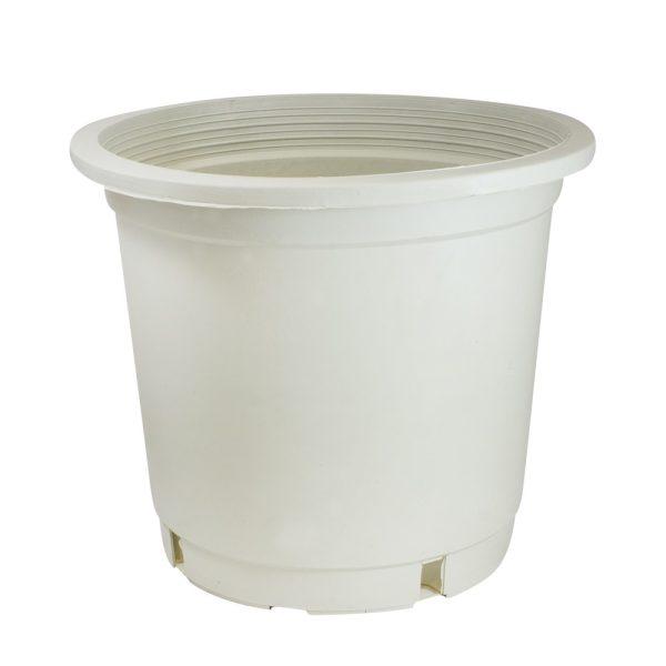 Maceta contenedor 30 x 30 x 28 (17L) Blanca