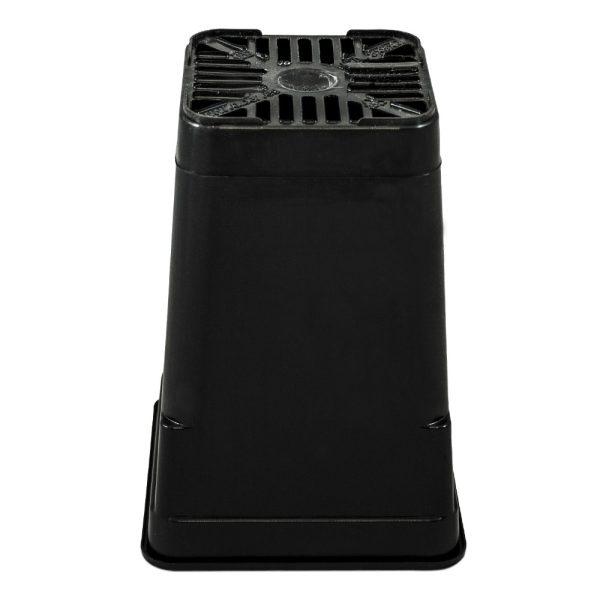 Maceta ECO 9 x 9 x 13 cm (0,75L) negra