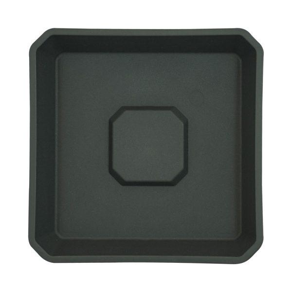 Plato negro ECO 15 x 15cm