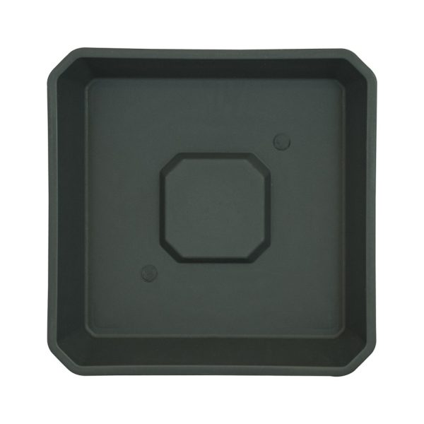 Plato negro ECO 18 x 18cm