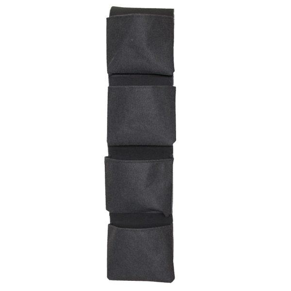 Maceta tela vertical 4 bolsillos