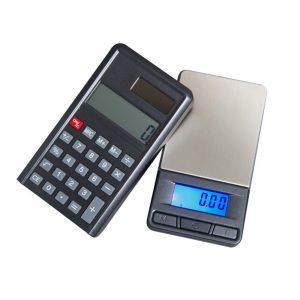 Báscula Calculadora CL-300-BK (300x0,01g)