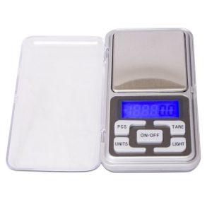 Báscula plata de bolsillo 500g ± 0,1g