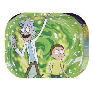 Bandeja Pequeña Rick y Morty Spiral 18x14cm