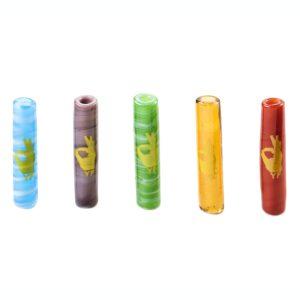 Boquilla cristal Murano Small Yellow Finger 1unidad