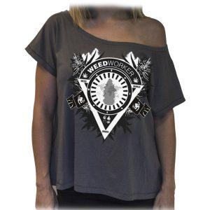 Camiseta WEEDWORKER chica