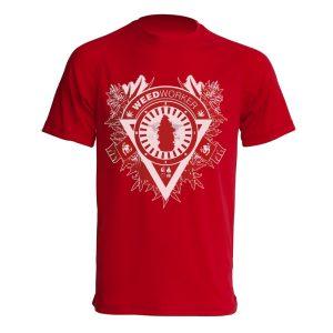 Camiseta WeedWorker Roja