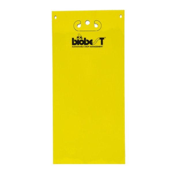 Sticky Trap amarilla 25x10cm 20und con gancho